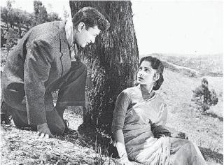 Dev and Waheeda